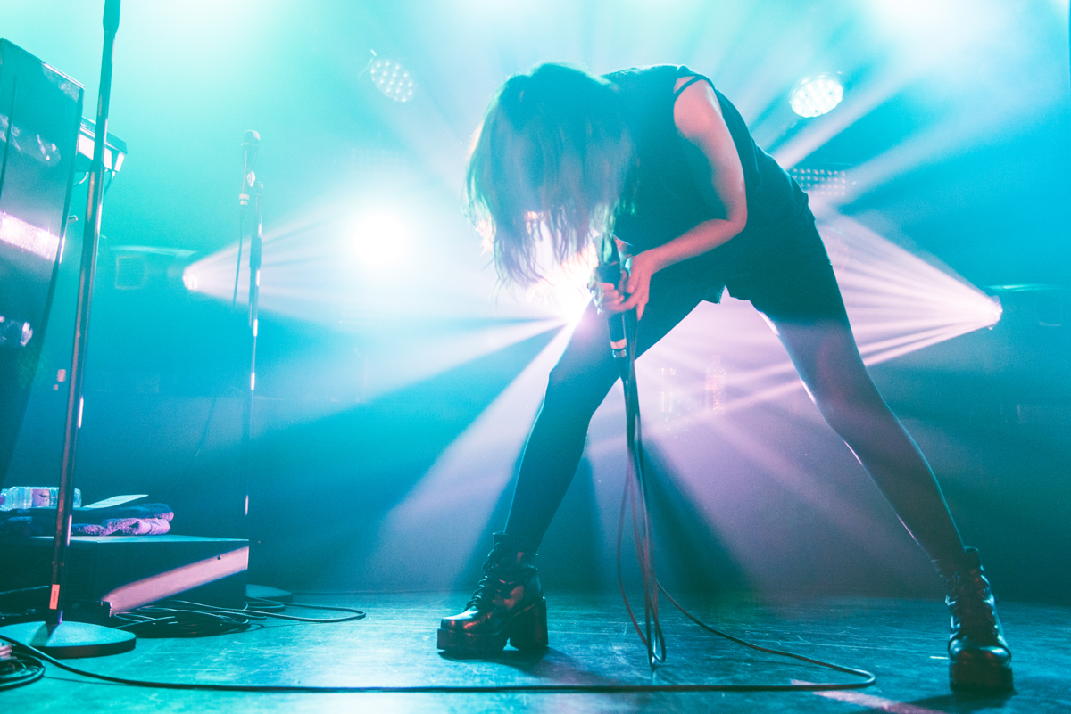 CHVRCHES - Tufnell Park Dome, London 23/09/15 | Photo by Laura Harvey